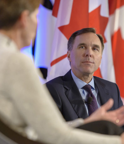 2019 Post-Budget Luncheon with the Honourable Bill Morneau, Canada's Minister of Finance