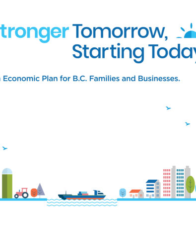 News Release: Stronger Tomorrow, Starting Today Charts a Course to Rebuilding British Columbia's Economy and Personal Prosperity