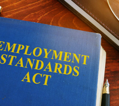 SUBMISSION:  Joint Business Community Response to the B.C. Law Institute's Consultation on the Employment Standards Act